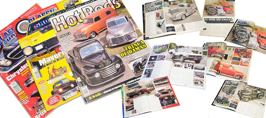 Fotografias para as Revistas Hot Rods e Classic Show