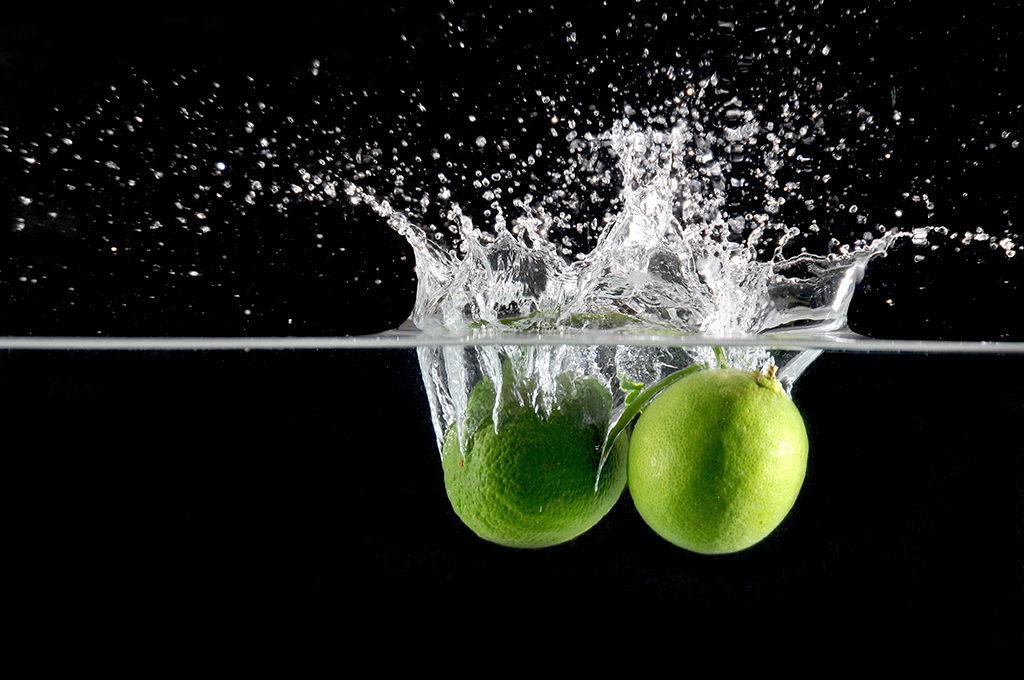 Fotgrafia splash para produtos